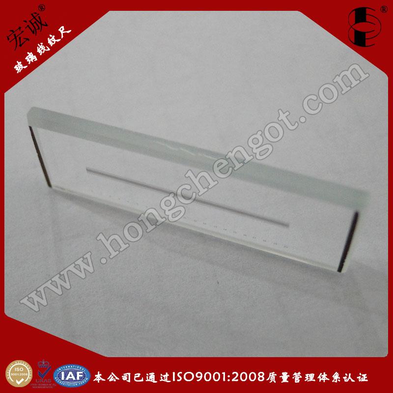 20mm玻璃线纹尺