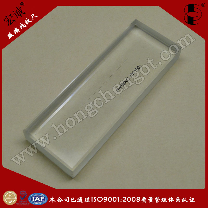 50mm玻璃线纹尺