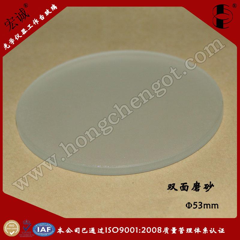 圆形工作台玻璃