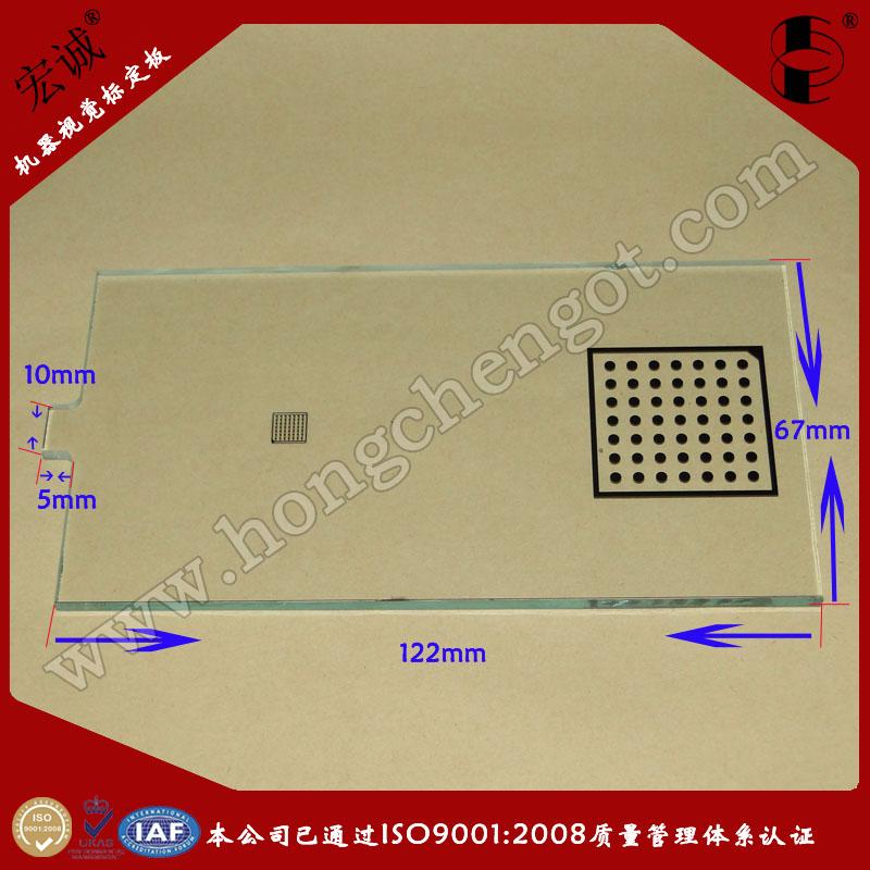机器视觉圆点标定板Glass calibration plate